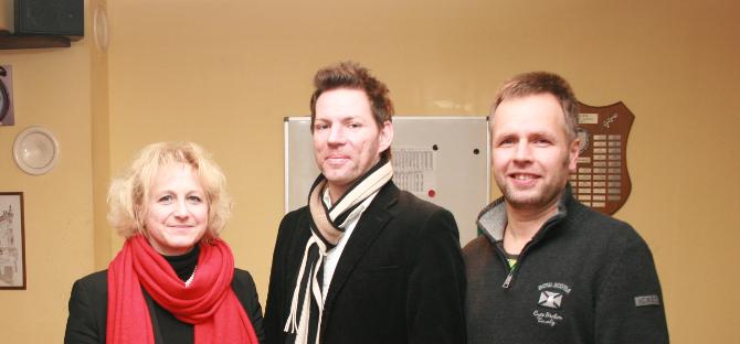 V.l.n.r: Regina Böhmer, Axel Erhard und Martin Kolbe