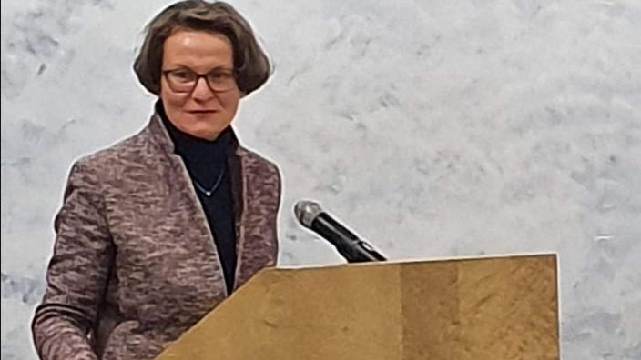 Ministerin Ina Scharrenbach